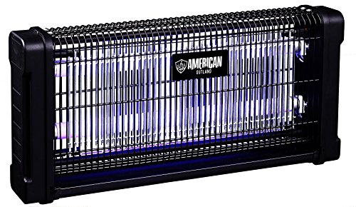 American Outland Bz5004 Electronic Indoor Bug Zapper W High Efficiency Uv-a Lamp - For Residential And Commercial