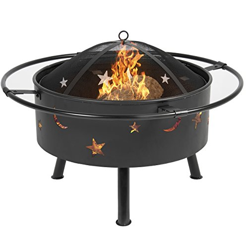Best Choice Products 30 Fire Pit cooking Grill FireBowl Outdoor Patio Fireplace Garden Stove Firepit