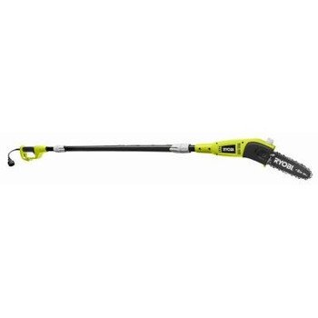 Ryobi RY43160 6 Amp 8 Bar Electric Corded 9 Foot Pole Saw Tree Pruner Trimmer