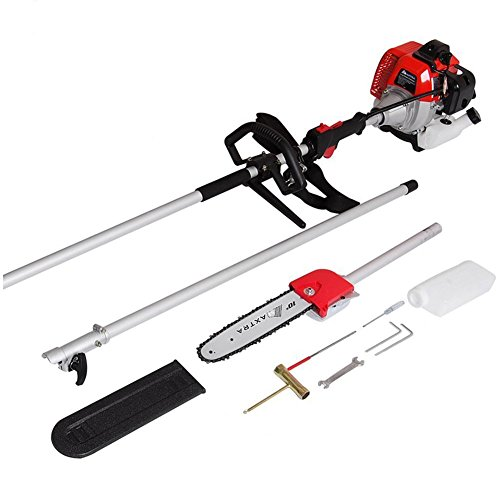 427cc 1135ft To 82ft Adjustable Length 15hp 1100w Gas Pole Saw Chainsaw Chain Saw Pruner Trimmer Maxtra 2016