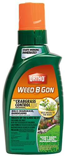Ortho Weed B Gon Weed Killer For Lawns Plus Crabgrass Control Concentrate 32oz not Sold In Hi Ny