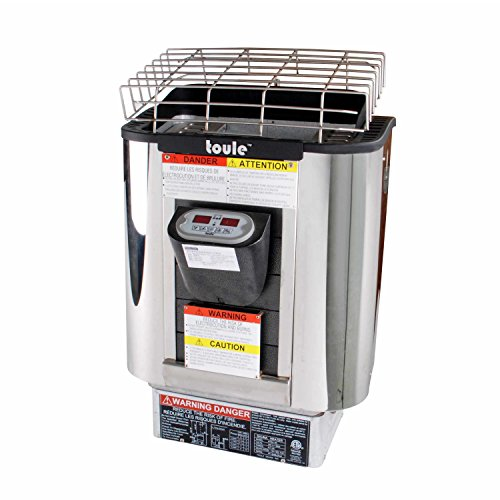 Toule Sh60t 6kw Etl Wet And Dry Sauna Heater Stove For Spa Sauna Room W Digital Controller