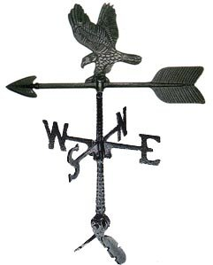 Montague Metal Products 24-inch Weathervane With Eagle Ornament