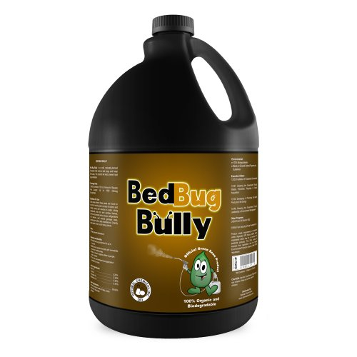 Bed Bug Killer Prevention Spray by Bed Bug Bully - Natural Bed Bug Spray Used By Professionals Certified By AAES and Pesticide Exempt By EPA - Child Safe Pet Safe - 1 Gallon
