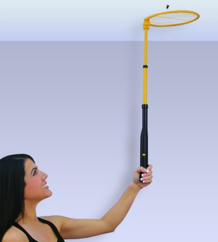 BENDABLE TELESCOPING ELECTRONIC BUG ZAPPER SWATTER