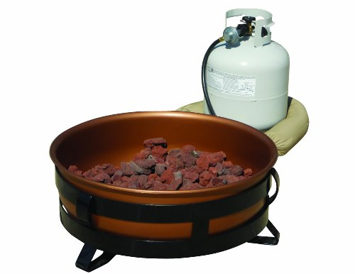King Kooker 24cfp Portable Propane Outdoor Fire Pit With Copper Bowl
