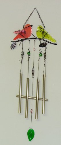 Singing Birds Suncatcher Wind Chime