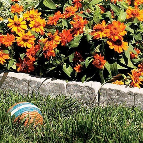 Stone Edging Landscape Border Diy Landscaping Rocks Stones Garden Retaining Wall po455k5u 7rk-b226635