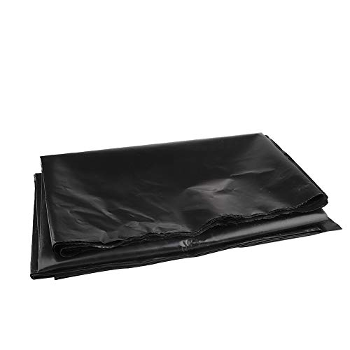 DAMEING Durable Pond Liner Garden Landscaping Pool Liner Leakproof Black PVC for Koi Ponds Streams Fountains and Water Gardens
