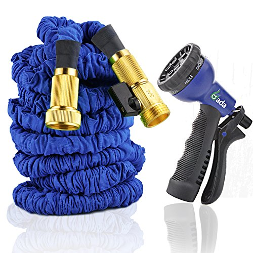 2016 New Designgarden Hose Top Brassexpandable Collapsible Expanding Hosesolid Brass Connectors Extra Strength