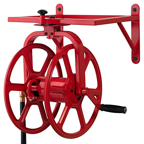 Liberty Garden 713 Revolution Multi Directional Hose Reel Red