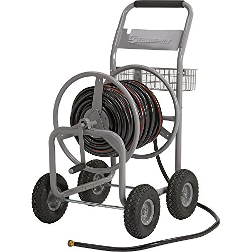 Strongway Garden Hose Reel Cart - Holds 400ft x 58in Hose