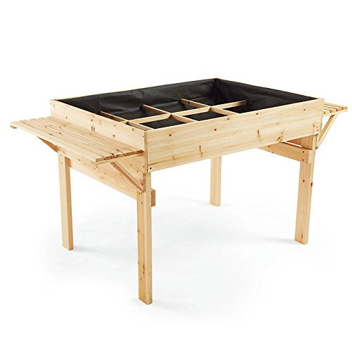 Natural Cedar Organic Garden Table