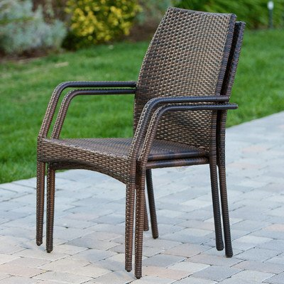 Best Selling California Outdoor Wicker Chairs Set of 2