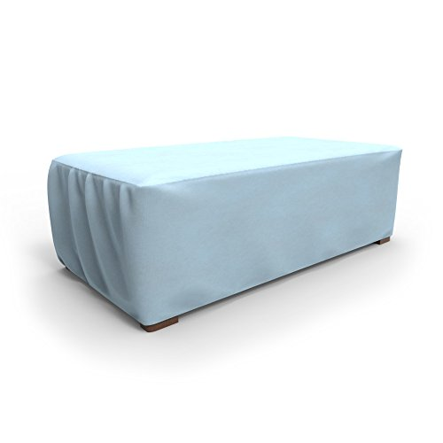 Budge All-Seasons Patio Ottoman Cover  Coffee Table Cover Large Blue
