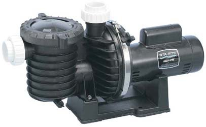 Pentair Sta-Rite P6E6E-206L Max-E-Pro Energy Efficient Single Speed Full Rated Pool and Spa Pump 1 HP 115230-Volt