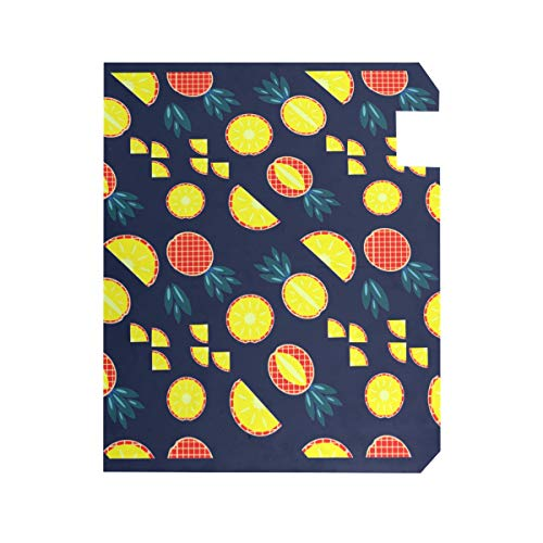 TaTaisu Mailbox Covers and Wraps Pineapple Navy Custom Magnetic Mail Box Cover Vinyl Home Garden Decor Standard Size