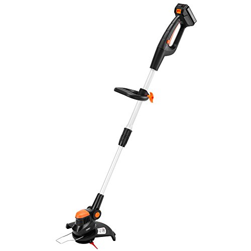 VonHaus 10-Inch Cordless Grass Trimmer and Edger - 20V Max Li-Ion Battery