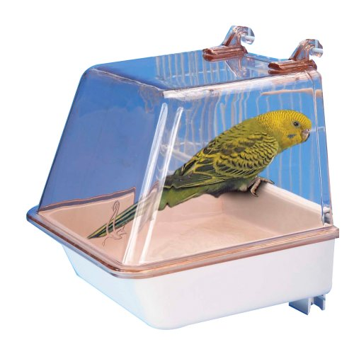 Penn Plax Bird Bath with Universal Clips
