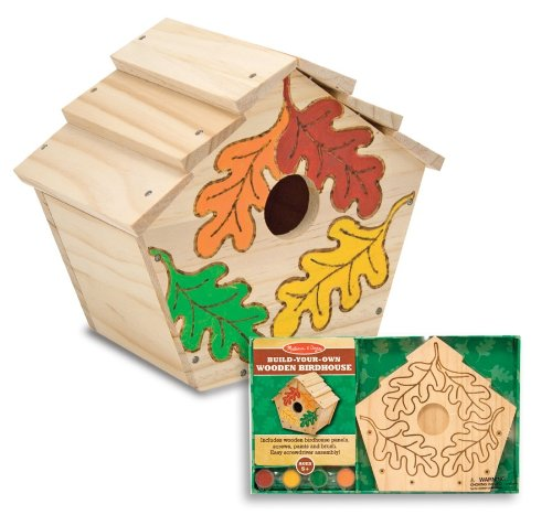 Melissaamp Doug Build-your-own Wooden Birdhouse