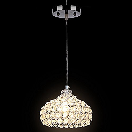 Crystal Chandelier Ceiling Lamp Light Pendant Wine Cup Lighting Fixture Max 40w orange
