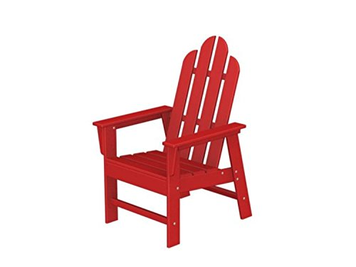 425 Recycled Earth-Friendly Outdoor Adirondack Dining Chair - Sunset Red