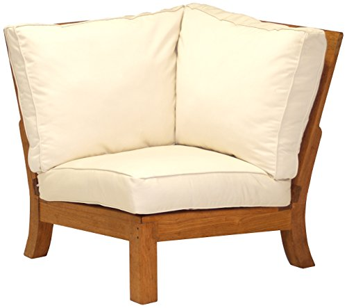 Three Birds Casual Monterey Sectional Corner Chair with Cushions