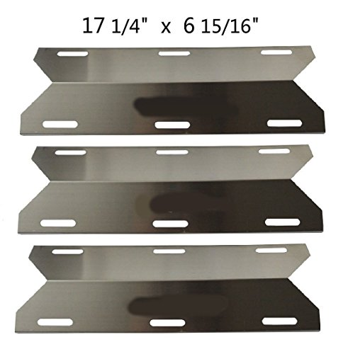 Bbq Energy Stainless Steel Replacement Heat Plate Bbq Gas Grill Heat Shield 91241 3-pack For Charmglow Costco