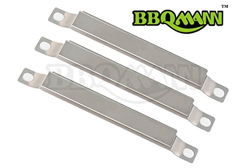 BBQMANN AF5923-Pack Stainless Steel Crossover Tube Burner for Gas Grill Models by Brinkmann Charmglow6 38 Long