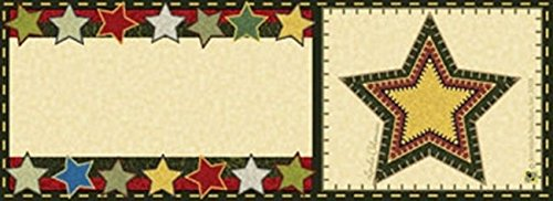 Folk Art Star Art-snaps&reg Magnetic Mailbox Art