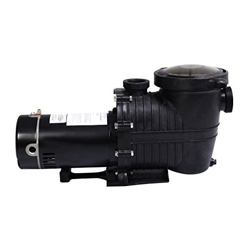 In Ground Motor 10HP Swimming Pool Pump w Strainer High-Flo Hi-Rate Inground