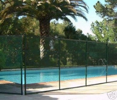 Sentry Safety Classic Guard Pool Fence - 5&rsquo X 10&rsquo Black