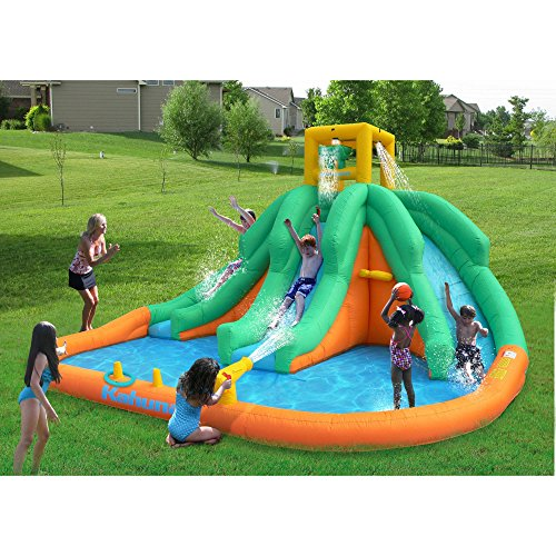 High-quality Adventure Falls Inflatable Waterslide Multi