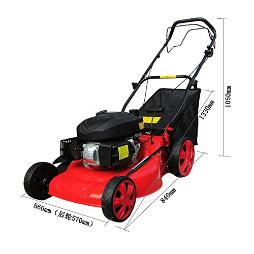 SOGAR 20-Inch60 HP Self-Propelled Powered Gasoline Lawn Mower Side Discharge Mower