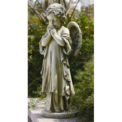 Joseph Studio 42513 Tall Standing Angel Child Praying Statue 26-inch