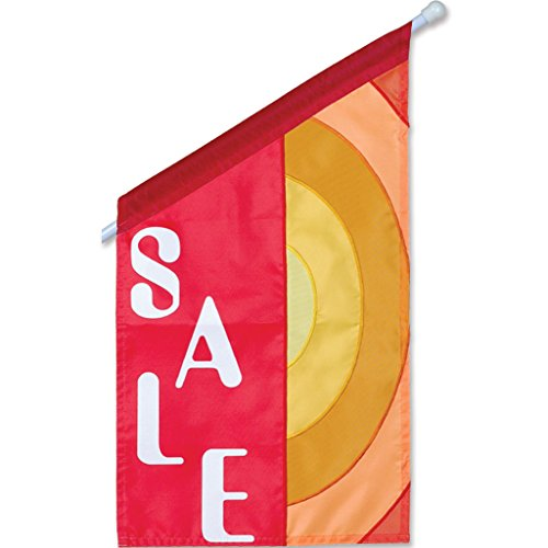 Premier Kites 52206 Commercial Applique Flag The Sale On 12 by 21-12-Inch