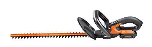 Worx Wg2551 20v Cordless Hedge Trimmer 20&quot Battery And Charger Included